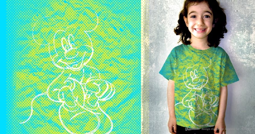 Mickey Love by kimkong1014 on Threadless