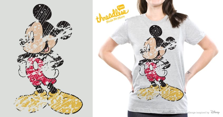 Inked Mickey  by chingmoncheng on Threadless
