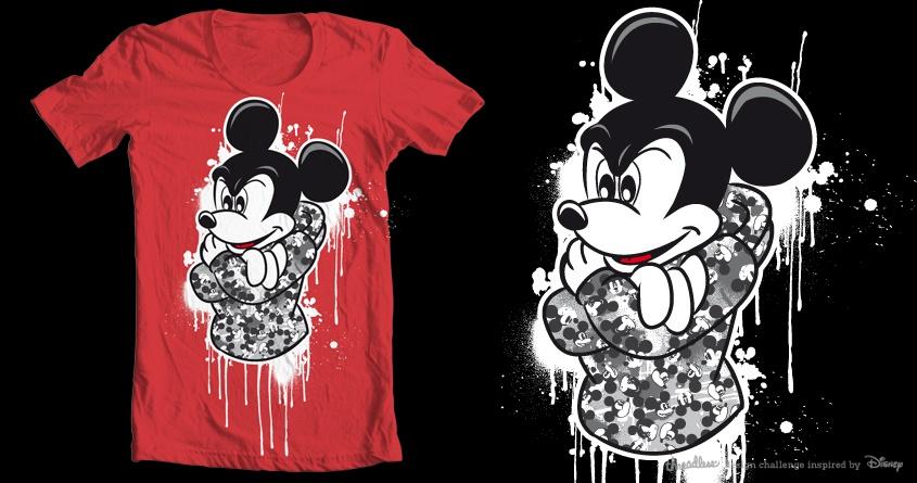 Mickey Graff Tee by Keroth on Threadless
