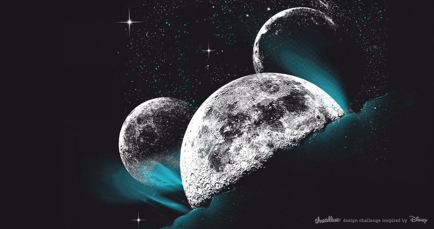 Mickey Moon by kako64 on Threadless