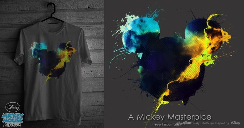 A Mickey Masterpice by FreeImagination on Threadless