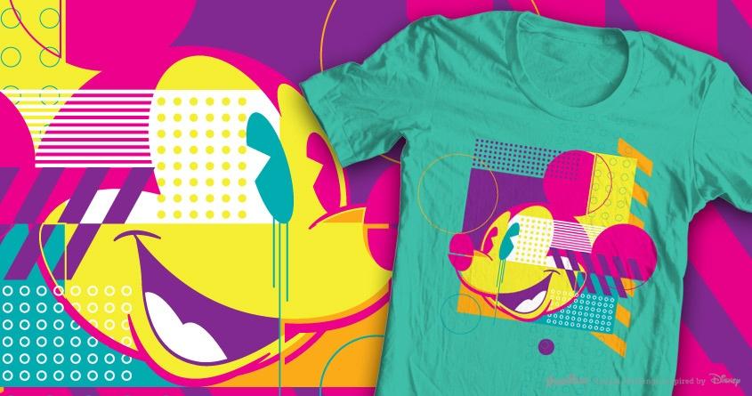 Mickey! by euphospug on Threadless