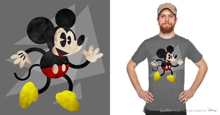 Strange Geometry: Mickey by Joe Conde on Threadless