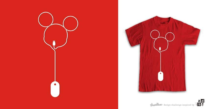 mickey MOUSE by a.d.17 on Threadless