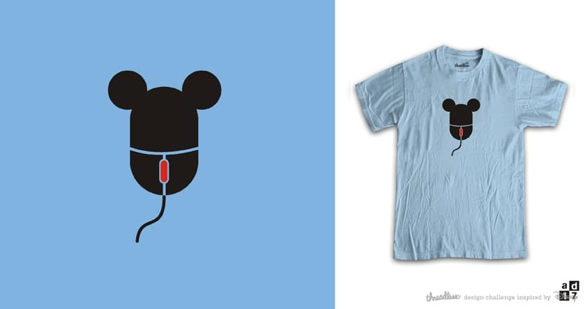 mickey MOUSE 2 by a.d.17 on Threadless