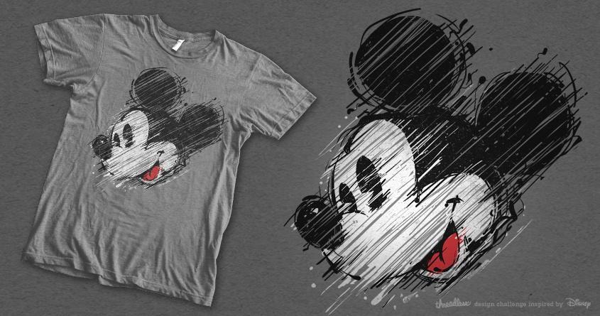 Mickey by barmalisiRTB on Threadless