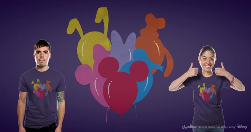 Disney Balloons Parade by messing on Threadless