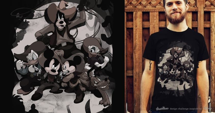Howdy Mickey by SPYKEEE on Threadless