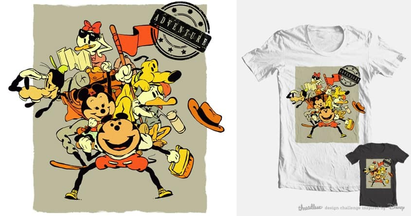 Ready for Adventure. by Vic* on Threadless