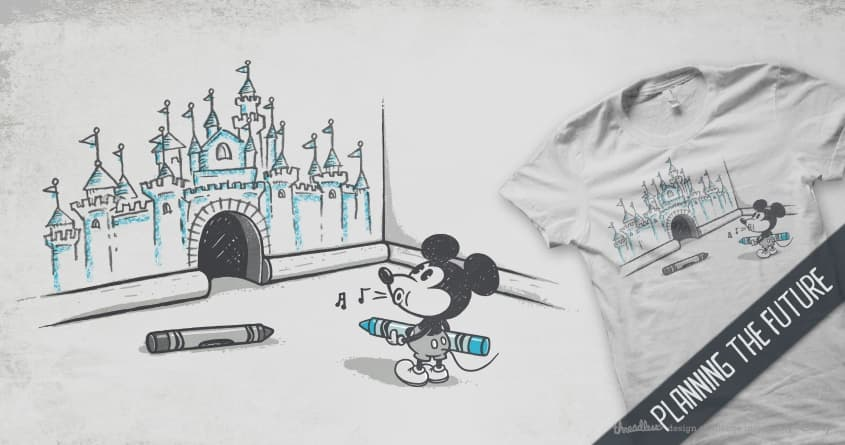 Planning the future by walmazan and expo on Threadless