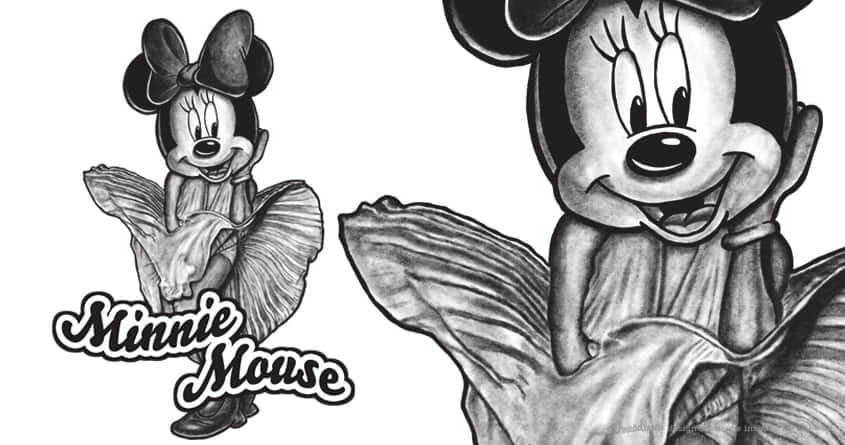 MINNIE MOUSE by robbyiodized on Threadless