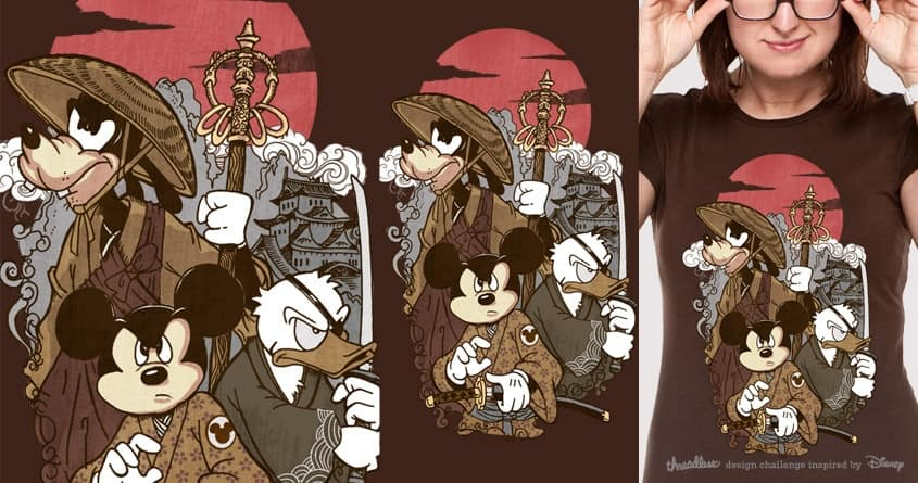 The big Three by voodazz on Threadless