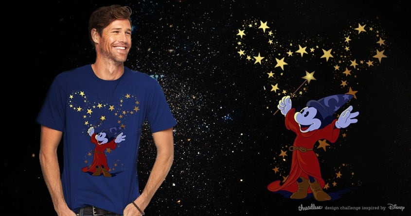 Magical Mickey by jieyi on Threadless