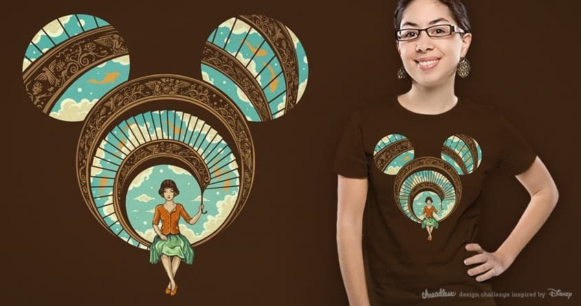 Welcome to My World by buko on Threadless