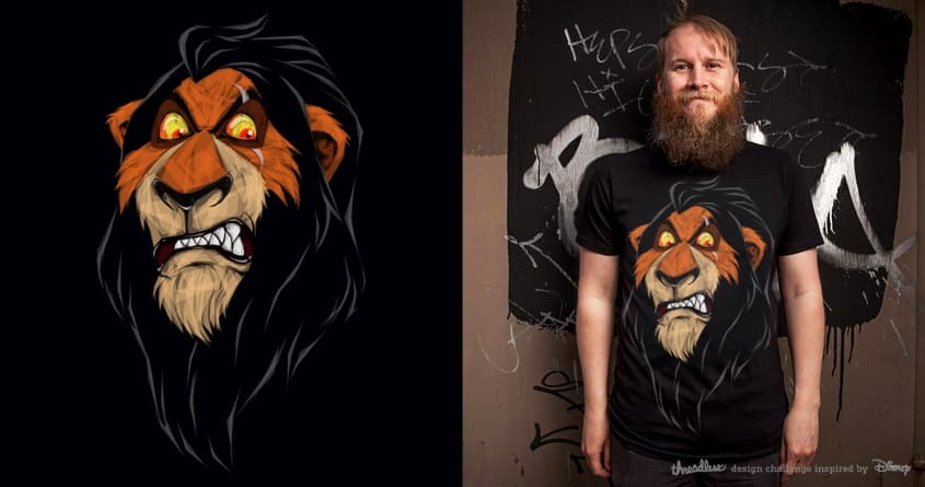 Scar by Joe Conde on Threadless