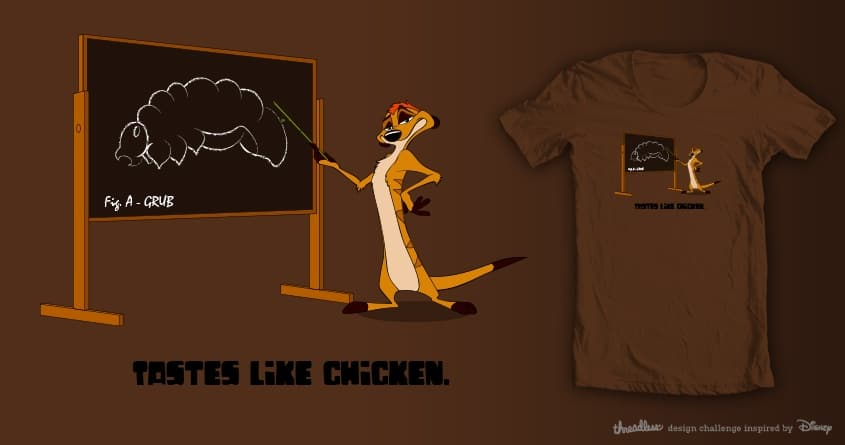 Tastes like chicken by Gritchu on Threadless