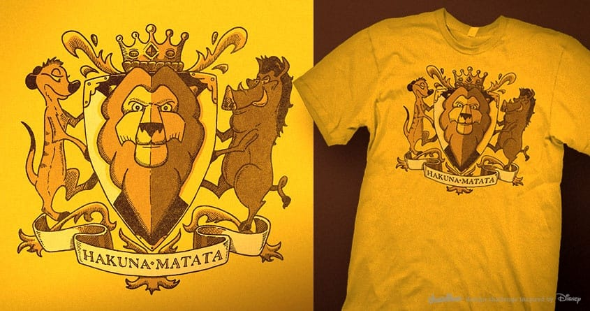 King of Lions by Santo76 on Threadless