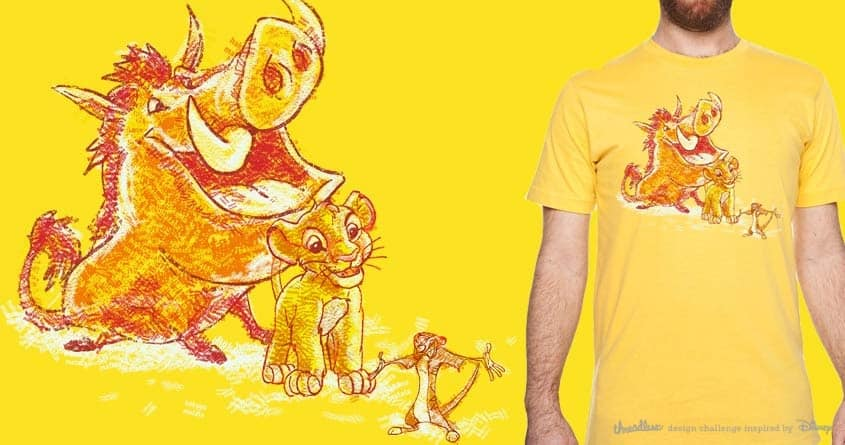 hakuna matata by kharmazero on Threadless