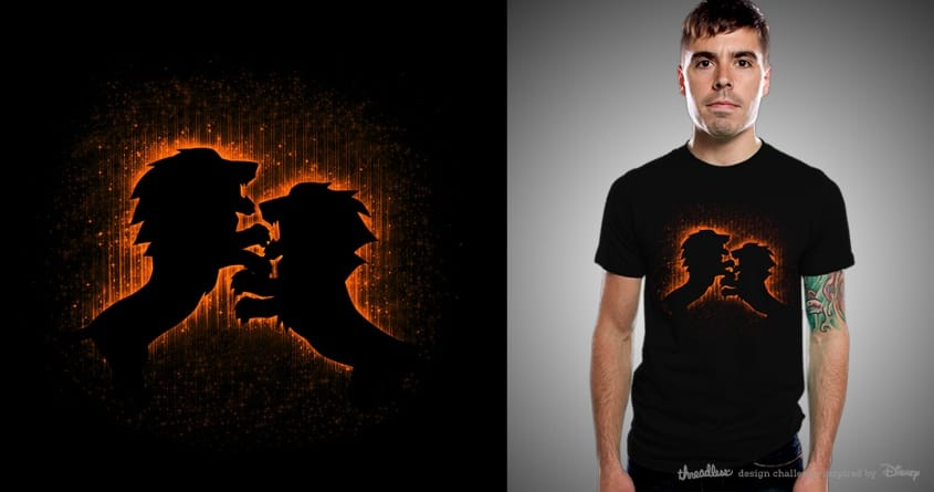 Fire Fighter by kuli_grafis on Threadless