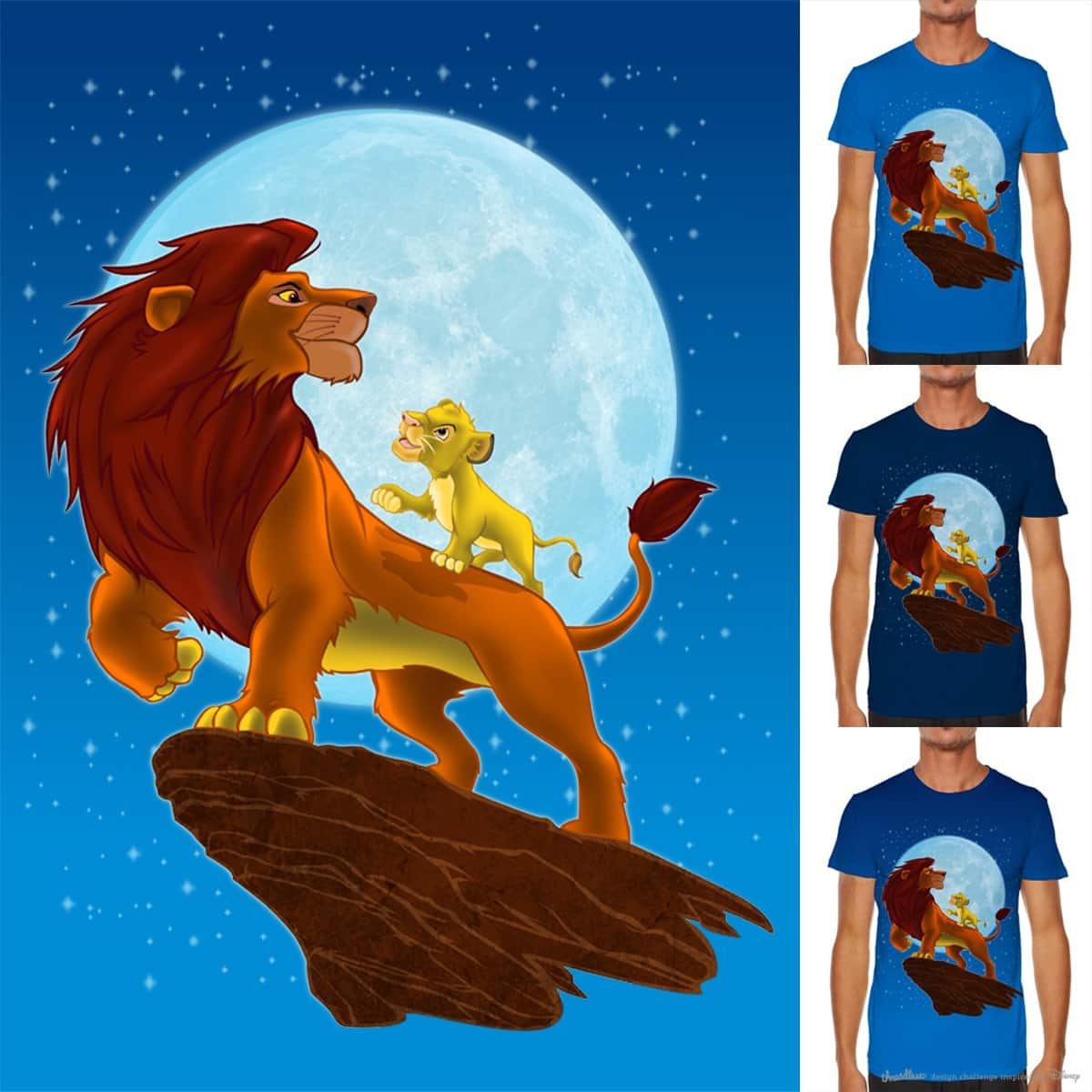 Stories Beneath the Moon by JohnthanFlores on Threadless