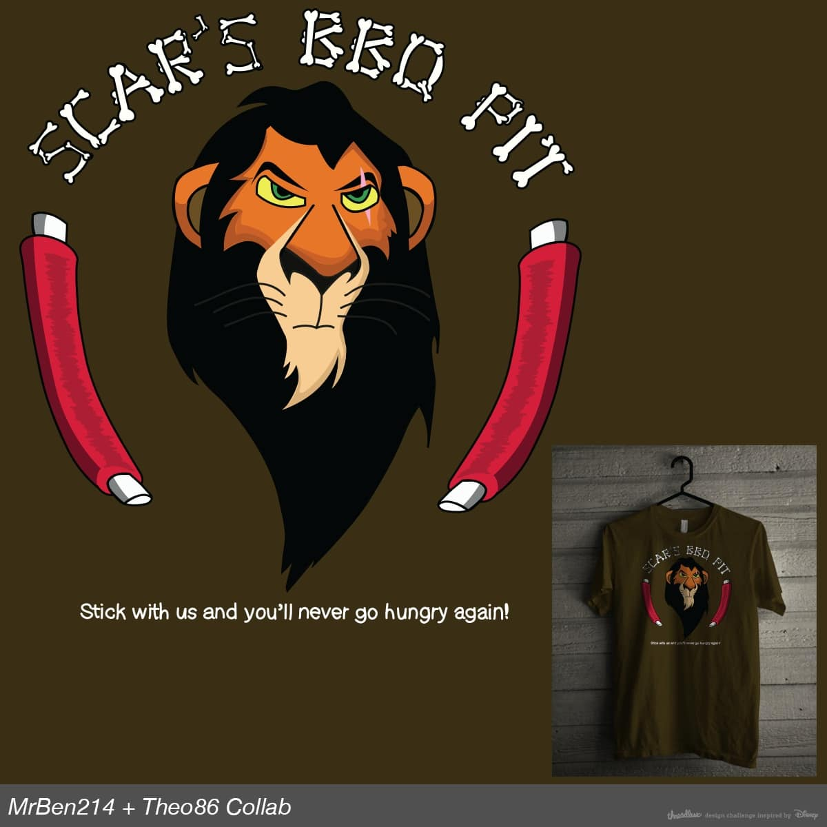 Scar's BBQ Pit by Theo86 and MrBen214 on Threadless