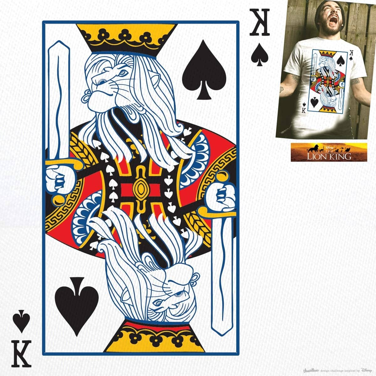 The King by Jemae on Threadless