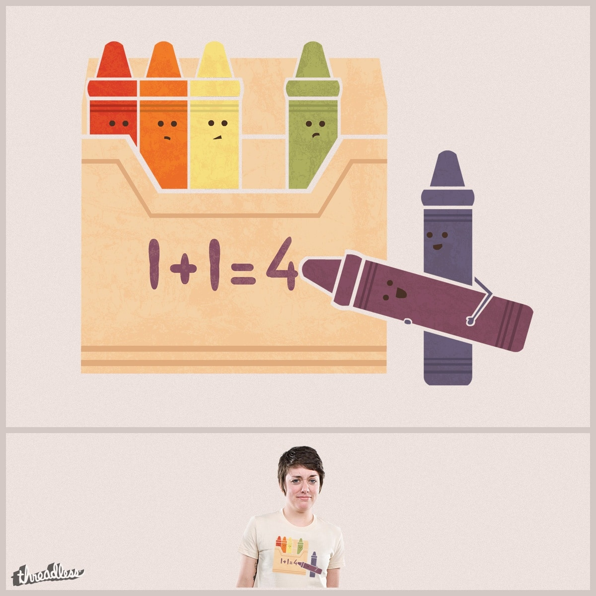 Not The Brightest Crayons by TeoZ on Threadless