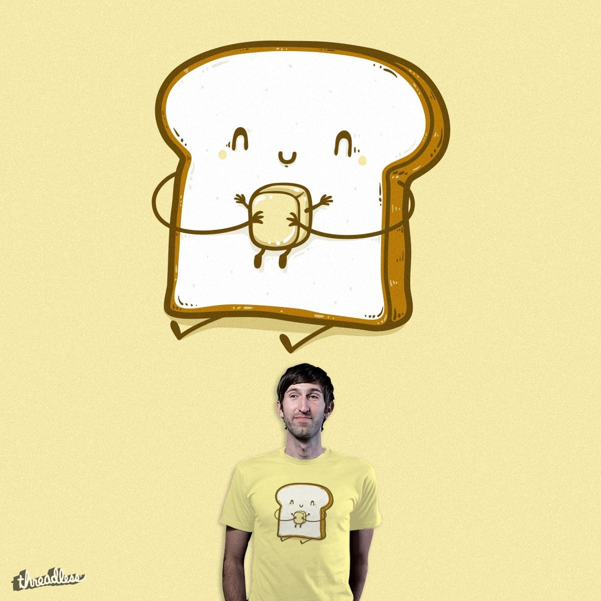 Bread and butter by Robo Rat on Threadless