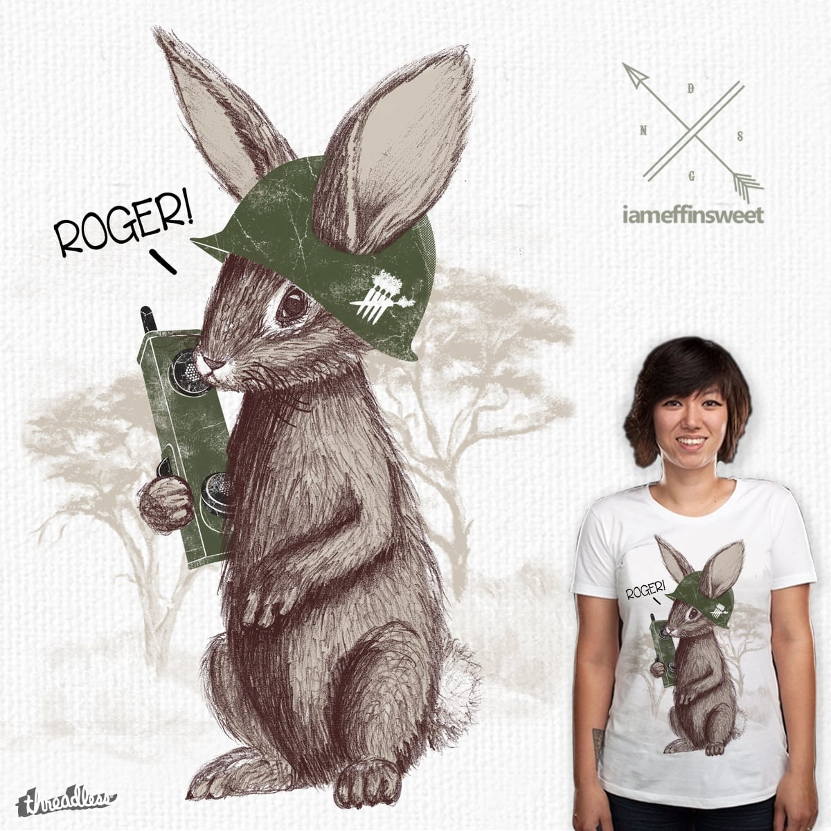 Roger Rabbit! by _EffinSweet_ on Threadless