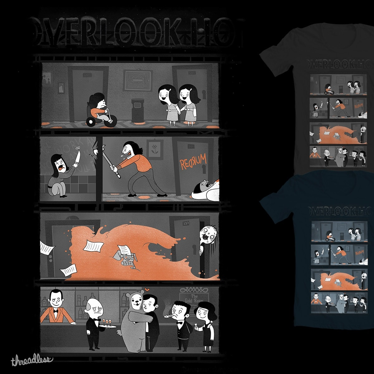 Welcome to the Overlook by queenmob on Threadless