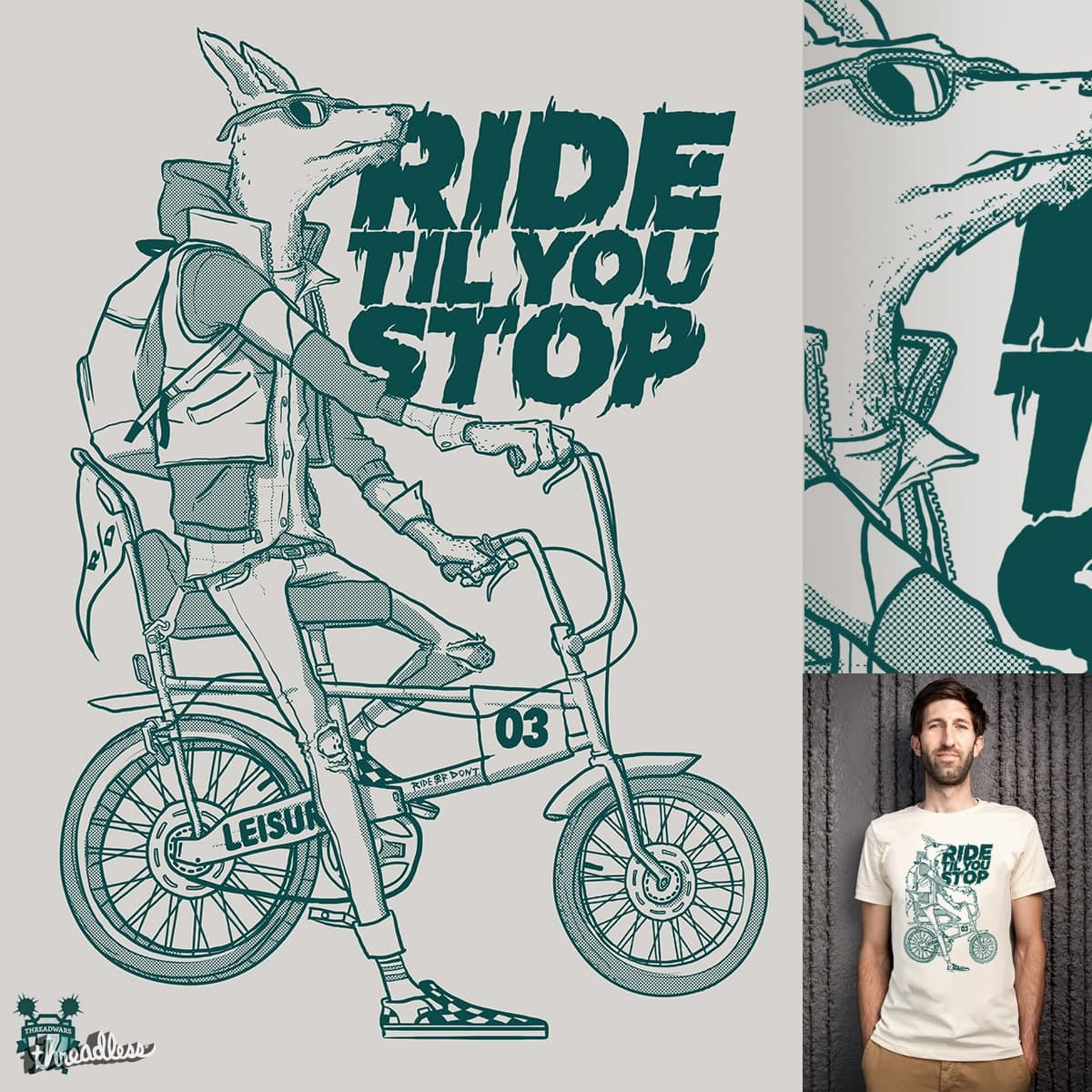 Ride or Don't by fightstacy on Threadless