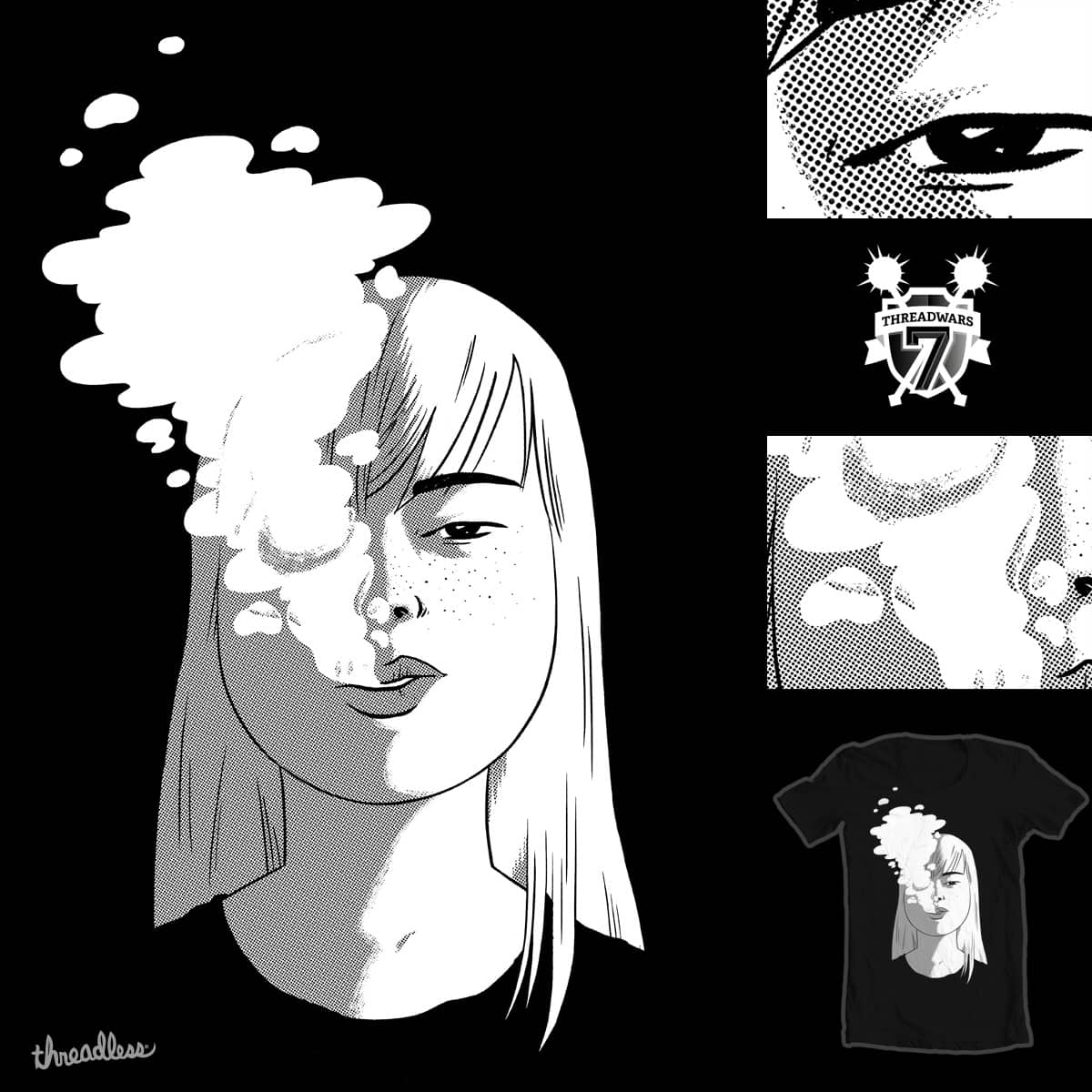 look cool/die young by mike bautista on Threadless