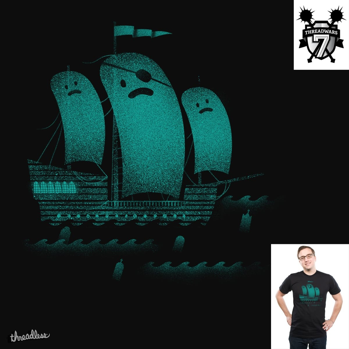 Ghost ship by Wharton on Threadless
