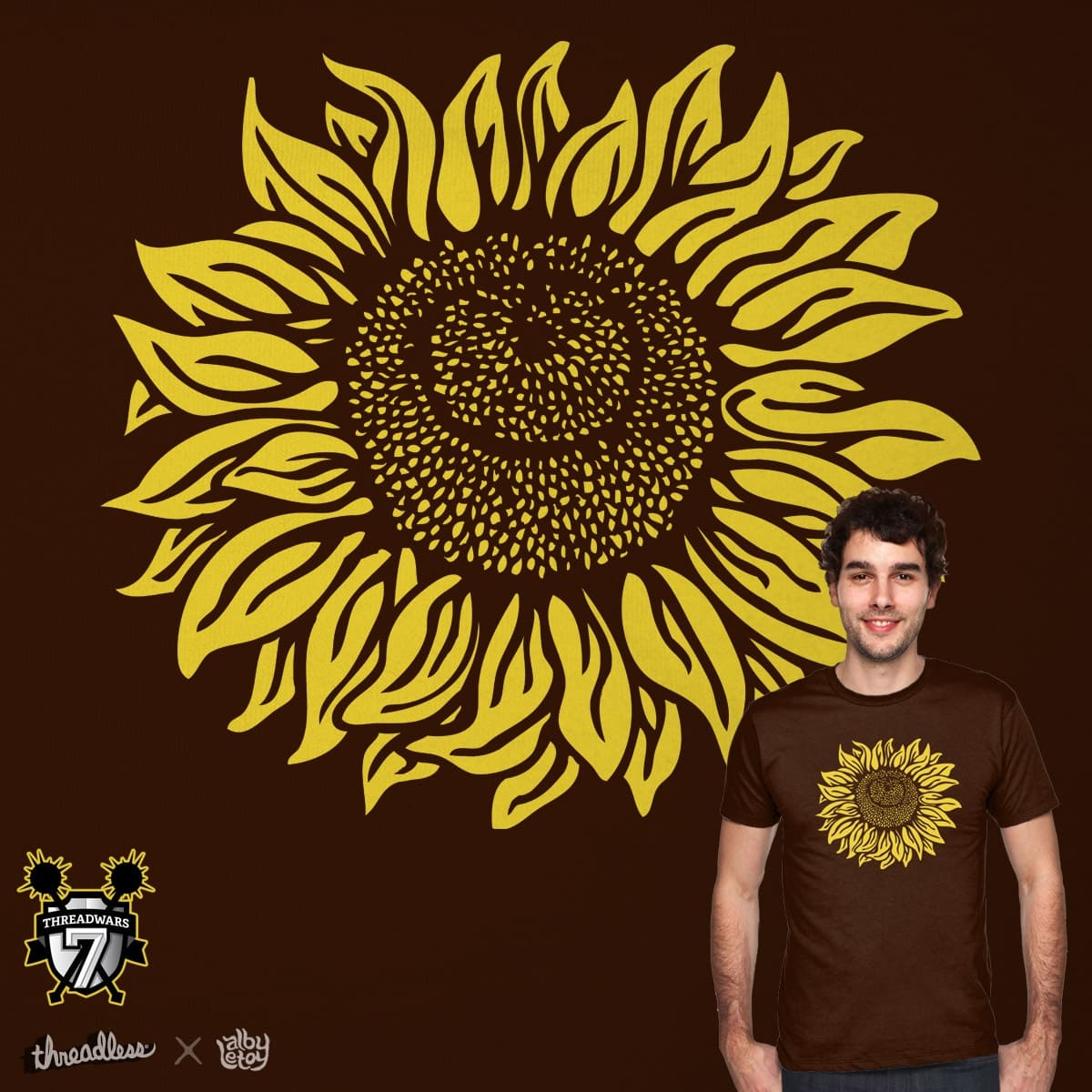 SUNFLOWER by albyletoy on Threadless