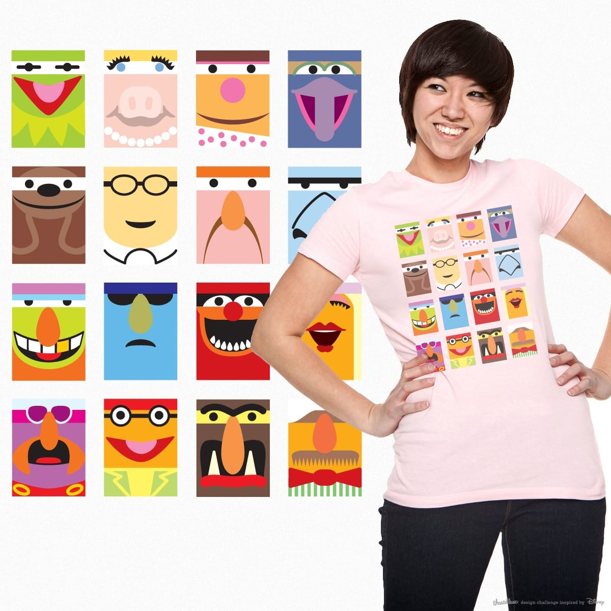 Muppets Squared by jomapa on Threadless