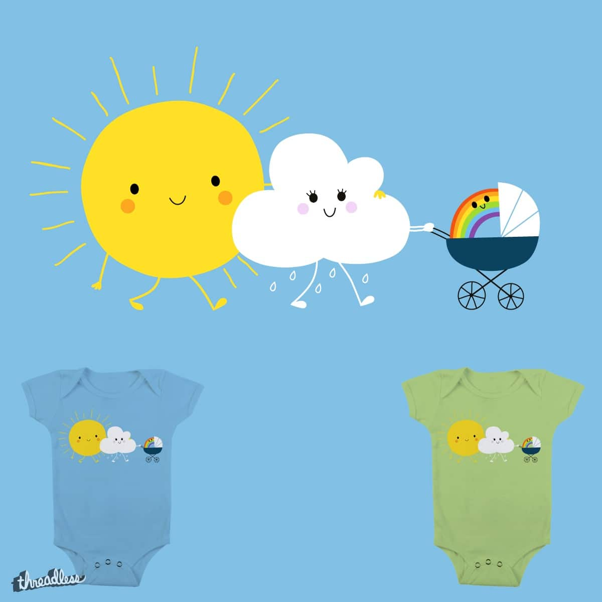 The weather family by nes-k on Threadless