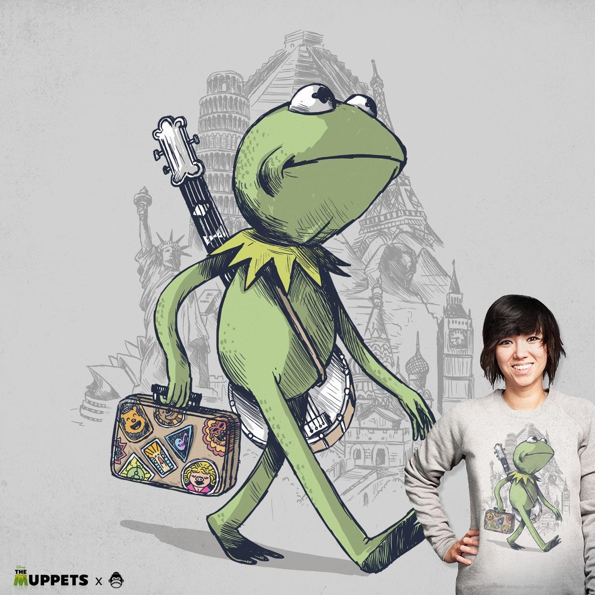 The Green Traveler by alexmdc on Threadless