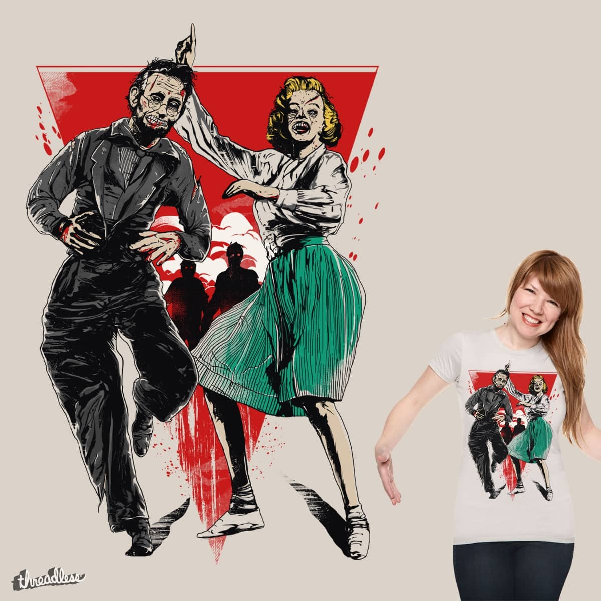 Dance of the Dead by iamrobman on Threadless