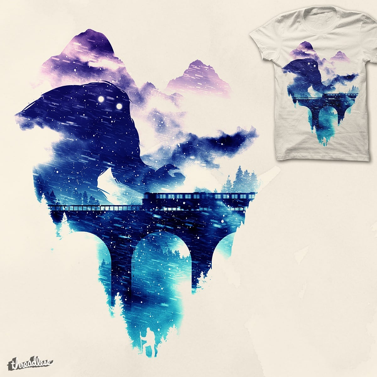 Another Strange Winter by nielquisaba on Threadless