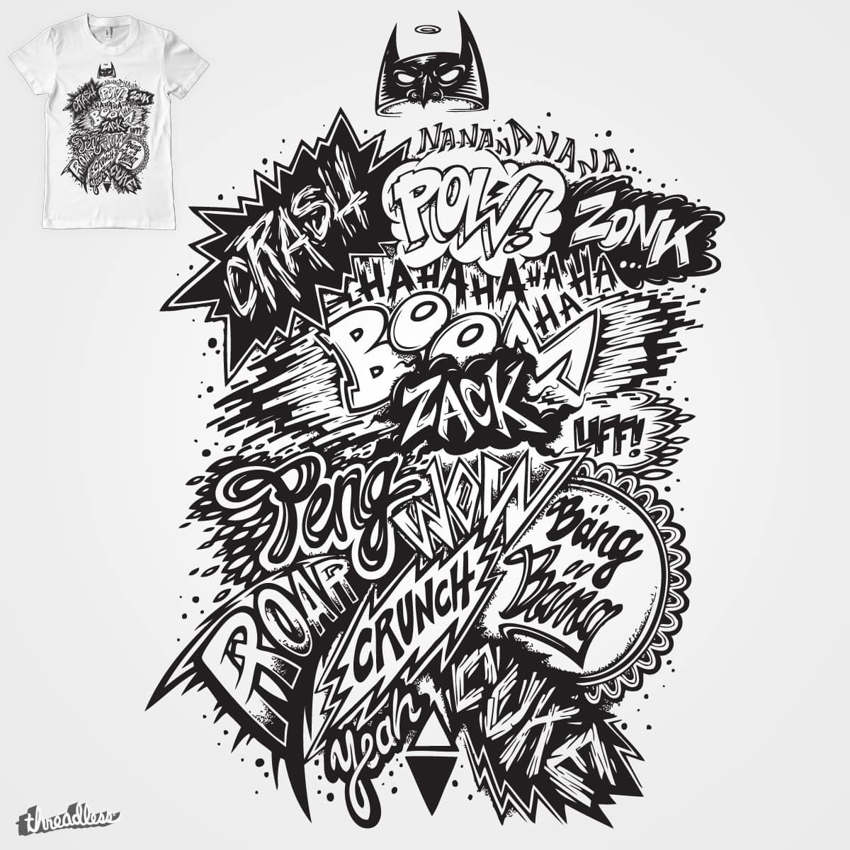 Nanananana by mikefriedrich on Threadless