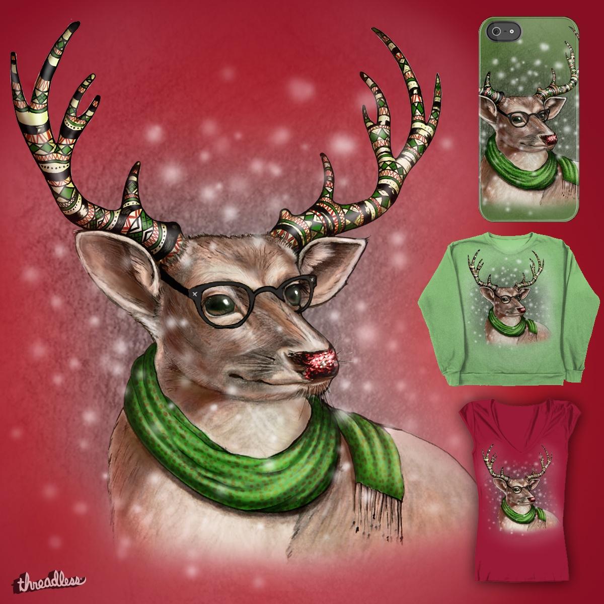 Fairisle Reindeer by Werkmeister on Threadless