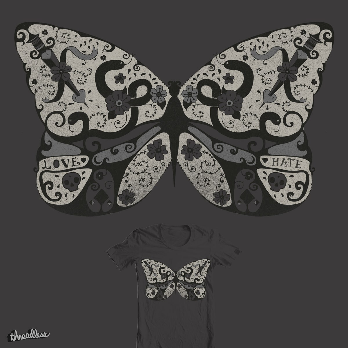 Polymorphism by Farnell on Threadless