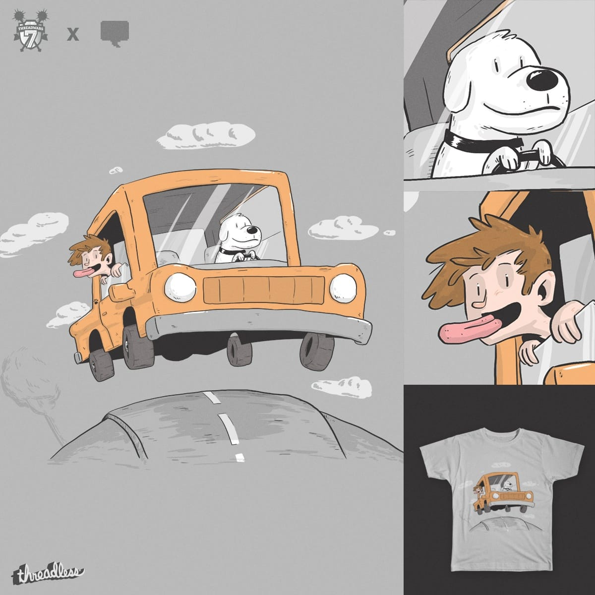 The Drive by lxromero on Threadless