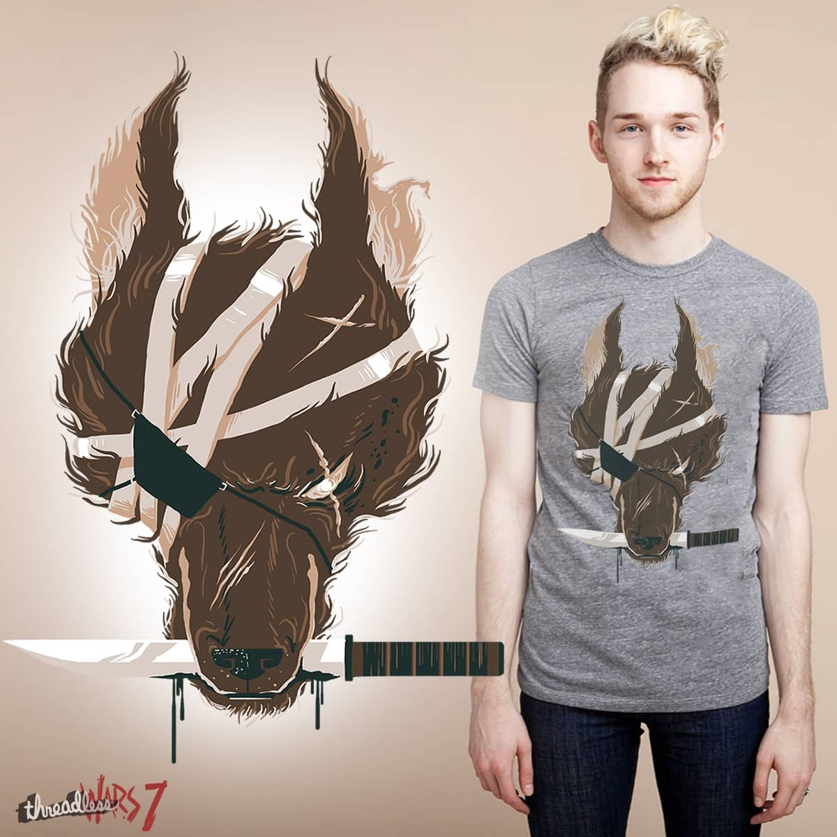 Dogfight by fightstacy on Threadless