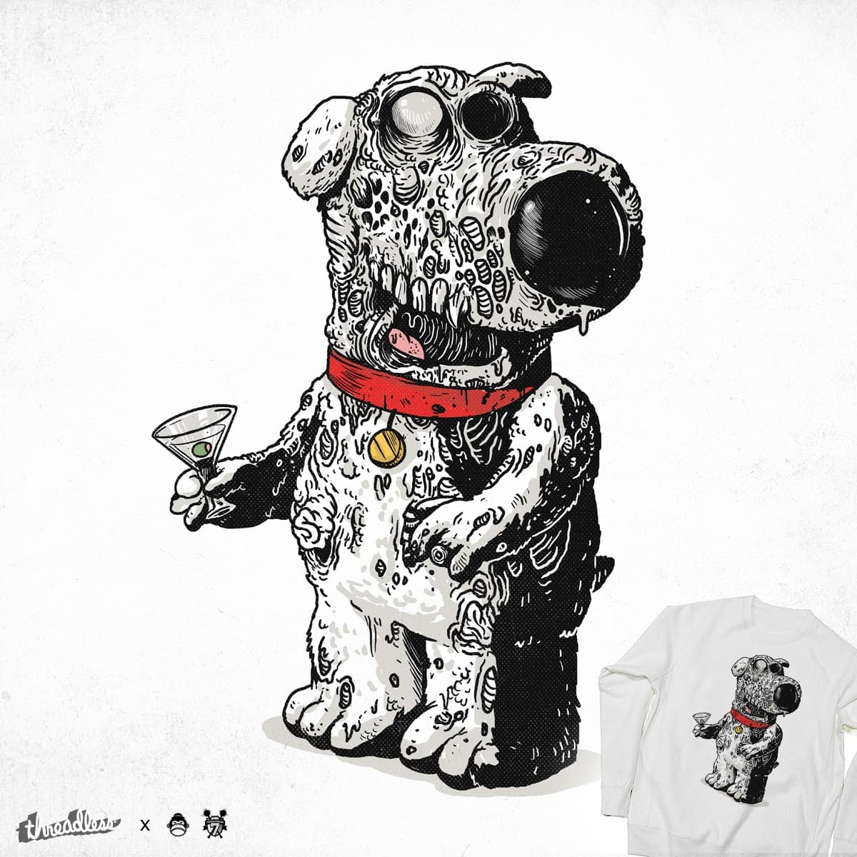 The Walking Dog by alexmdc on Threadless