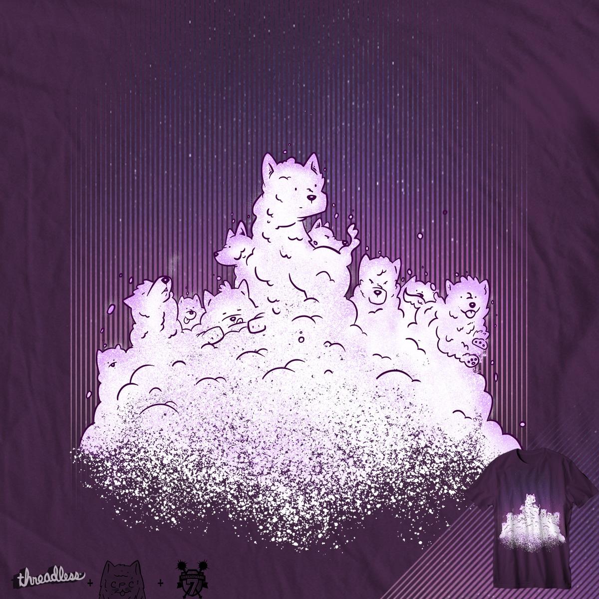 snow dogs by chuckpcomics on Threadless
