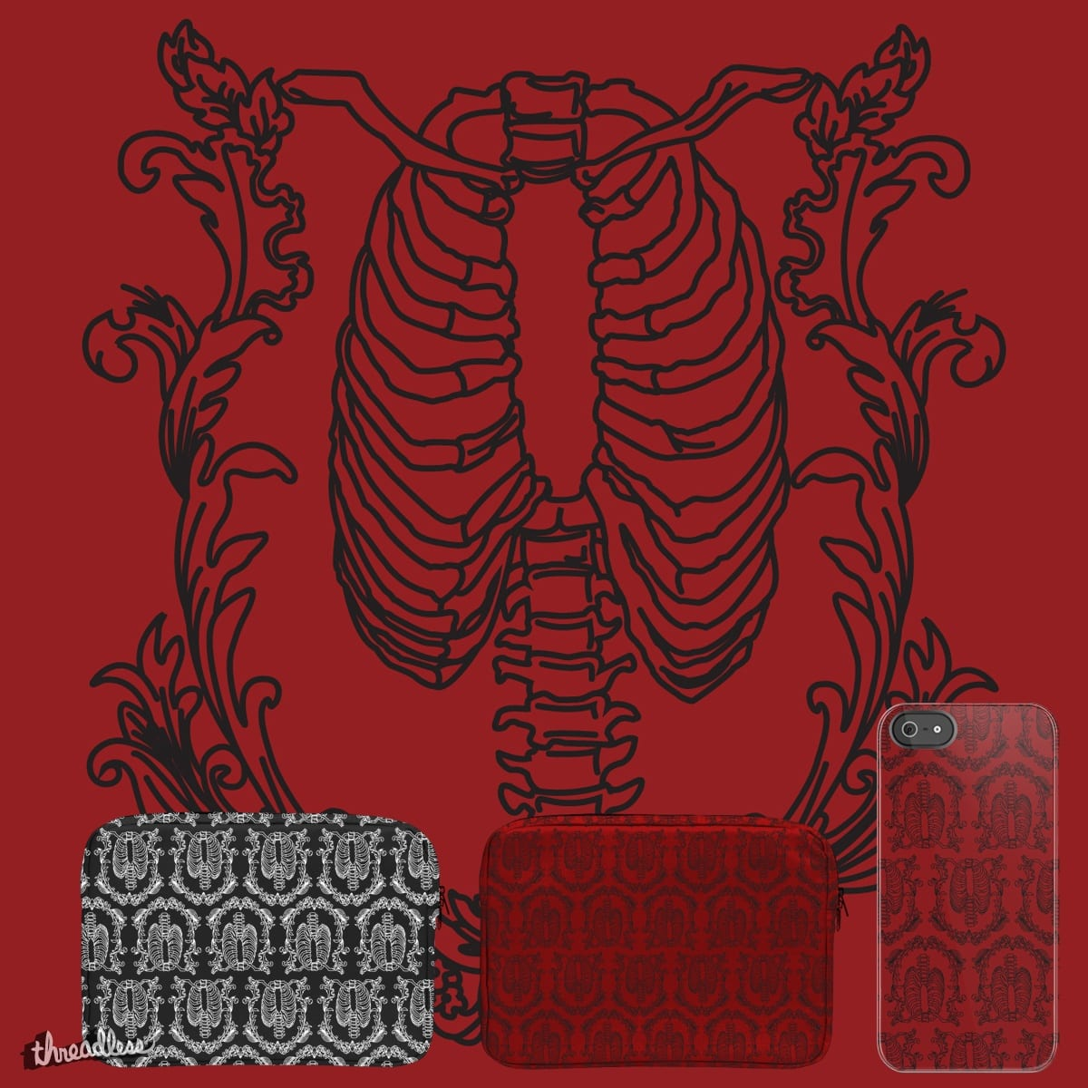 Victorian Gothic Pattern By StephieZombie13 On Threadless