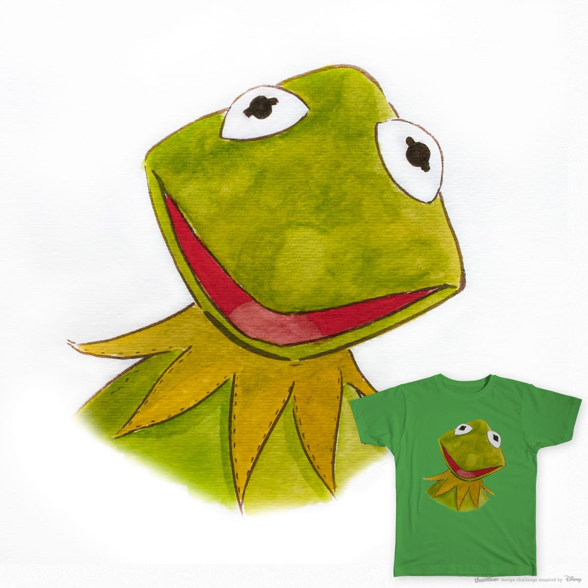 Kermit THE Frog by ARCADEO on Threadless