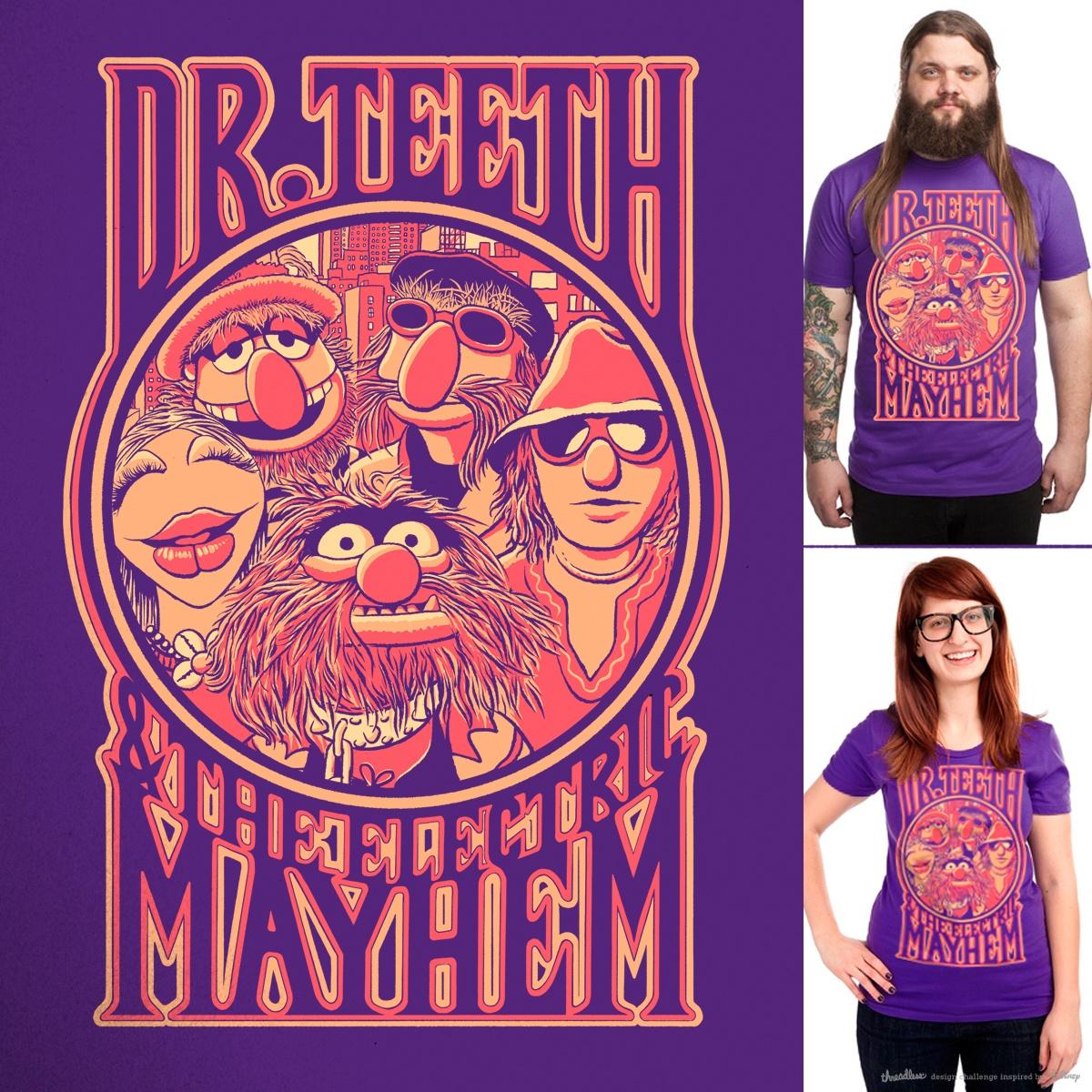 Electric Mayhem by v_calahan on Threadless