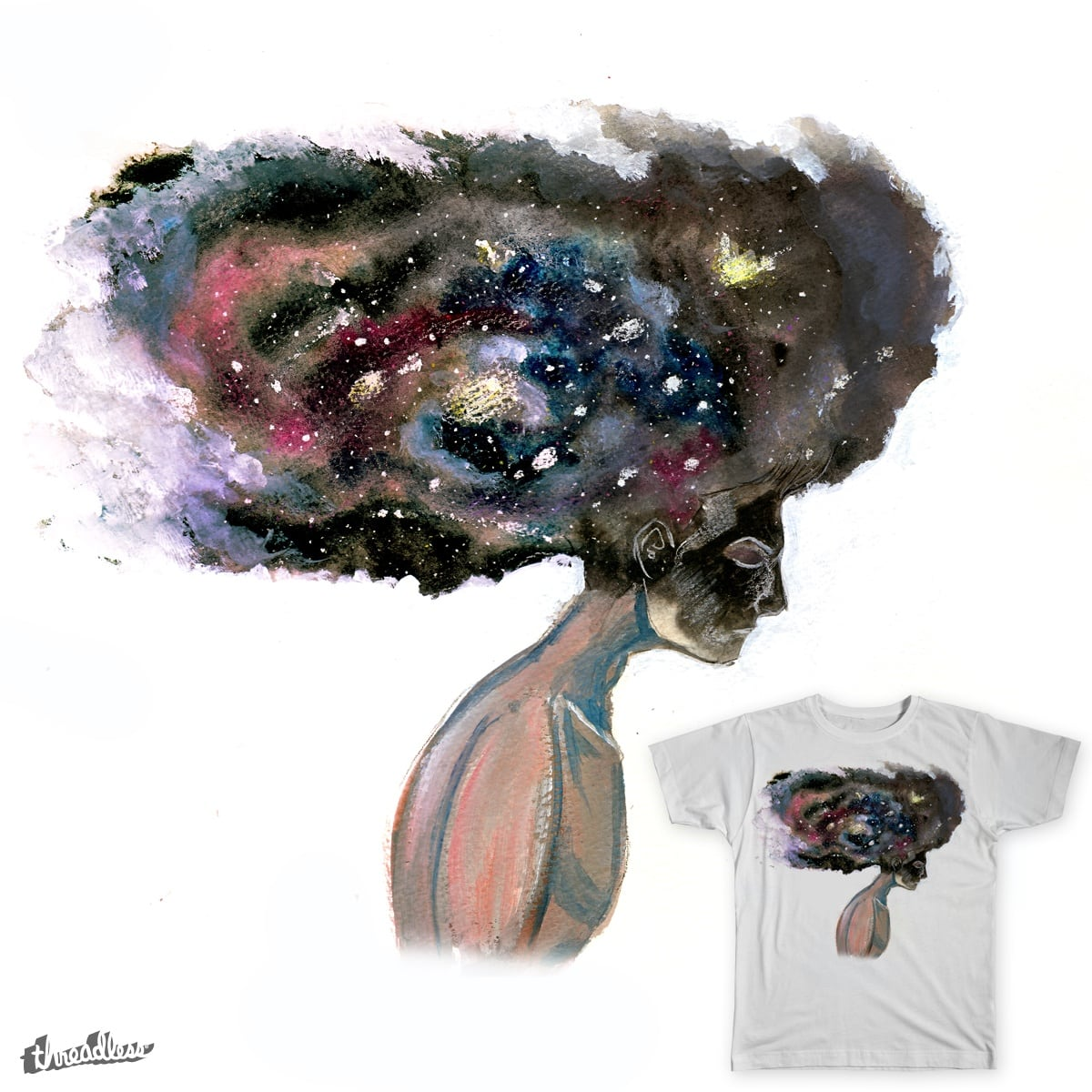 Where is My Mind by ARCADEO on Threadless